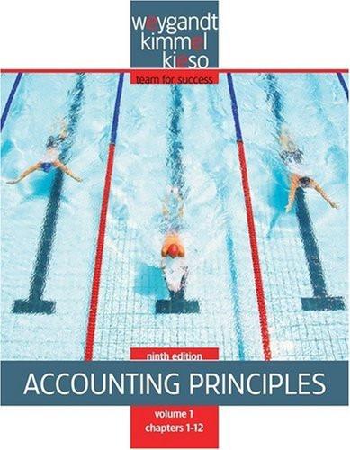 Accounting Principles Volume 1