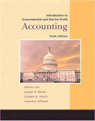 Introduction To Government And Not-For-Profit Accounting