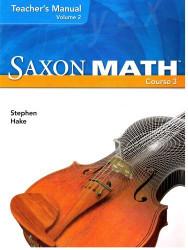 Saxon Math Volume 2 by SAXON PUBLISHERS