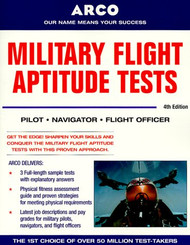 Military Flight Aptitude Tests by Arco
