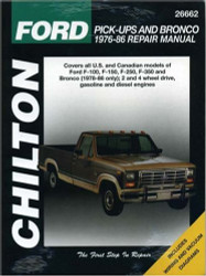 Ford Pick-ups and Bronco 1976-86