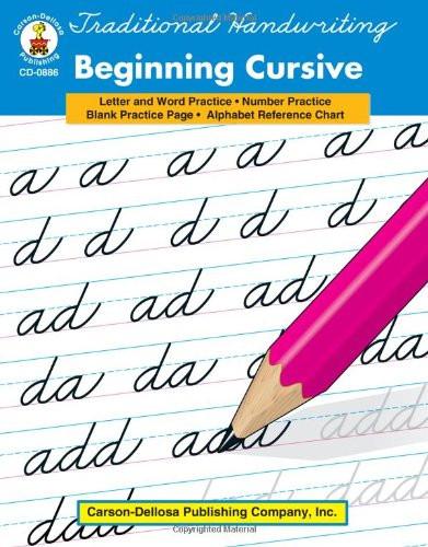 Traditional Handwriting Grades 1-3