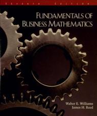 Fundamentals of business mathematics