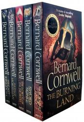 Bernard Cornwell Warrior Chronicles The Last Kingdom Series 1 Books Set Collection Pack