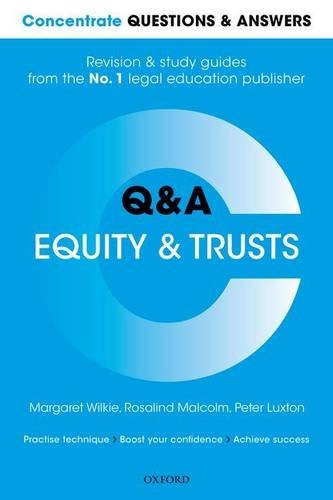 Equity and Trusts Q&A