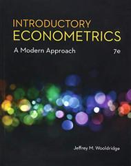 Introductory Econometrics by Wooldridge