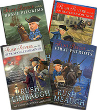 Rush Revere Set 4-Book Set The Adventures of Rush Revere