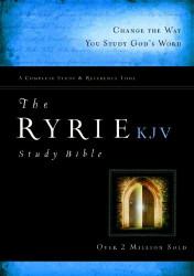 Ryrie KJV Study Bible Red Letter