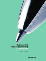 Business and Professional Writing: A Basic Guide