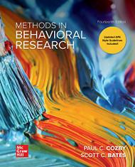 Methods in Behavioral Research