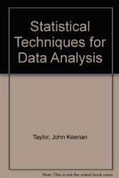Statistical Techniques for Data Analysis
