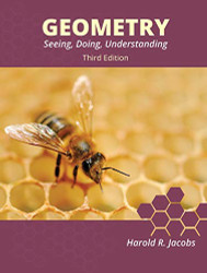 Geometry: Seeing Doing Understanding