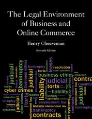 Legal Environment Of Business And Online Commerce