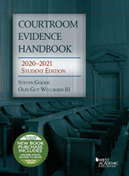 Courtroom Evidence Handbook 2020-2021 (Selected Statutes)