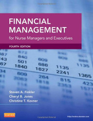 Financial Management For Nurse Managers And Executives