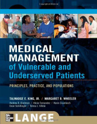 Medical Management Of Vulnerable And Underserved Patients
