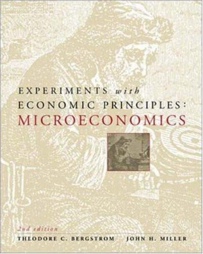 Experiments With Economic Principles Microeconomics_Bergstrom