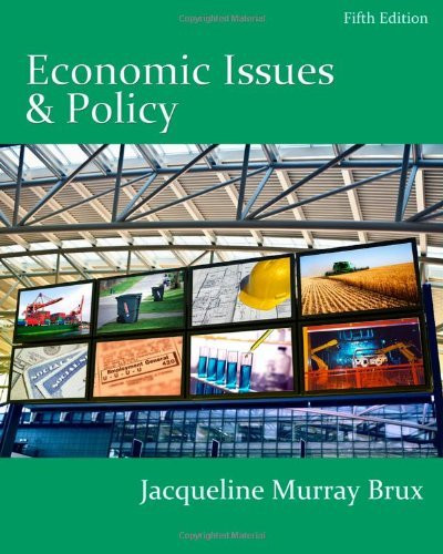 Economic Issues And Policy