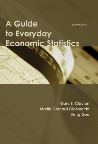 Guide To Everyday Economic Statistics