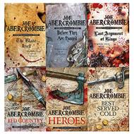 Joe abercrombie first law series 6 books collection set