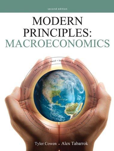 Modern Principles Macroeconomics