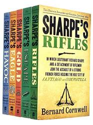 Bernard Cornwell The sharpe series 6 to 10 books collection set
