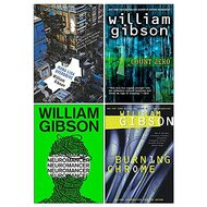 Sprawl Series Complete 4 Books Collection Set by William Gibson