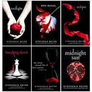 Twilight Series Stephenie Meyer 6 Books Collection Set