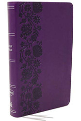 NKJV End-of-Verse Reference Bible Personal Size Large Print
