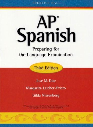 Ap* Spanish Preparing For The Language Examination