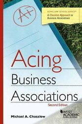 Acing Business Associations (Acing Series)
