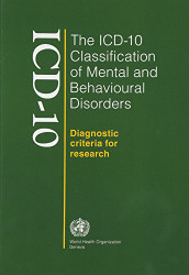 ICD-10 Classification of Mental and Behavioural Disorders