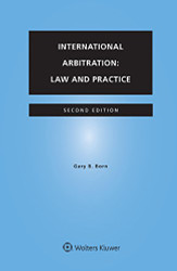 International Arbitration: Law and Practice