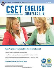 CSET English Subtests I-IV Book