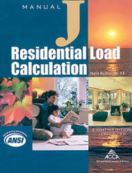 Residential Load Calculation Manual J Version 2.50