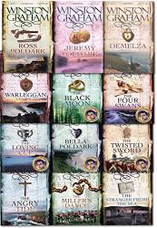 Winston Graham Poldark Series 12 Books Collection Set