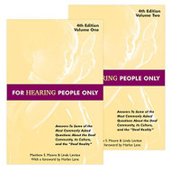 For Hearing People Only  Volumes 1 and 2