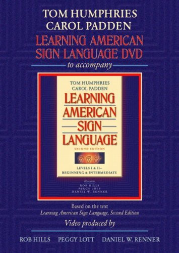 Learning American Sign Language DVD to accompany Learning American Sign Language - Levels 1 and 2 Beginning and Intermediate
