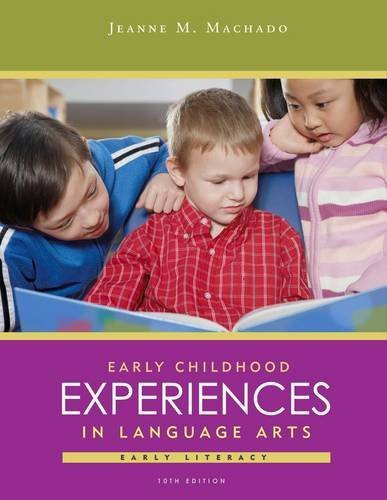 Early Childhood Experiences In Language Arts