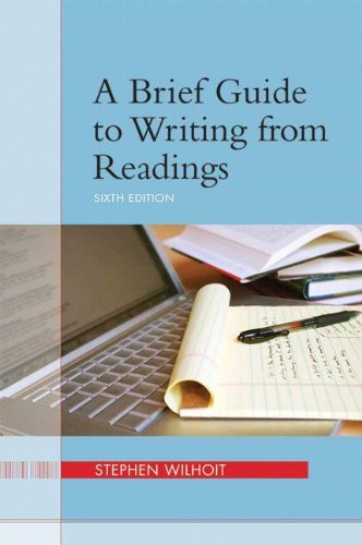 Brief Guide To Writing From Readings
