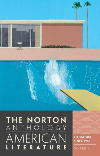Norton Anthology Of American Literature Volume E