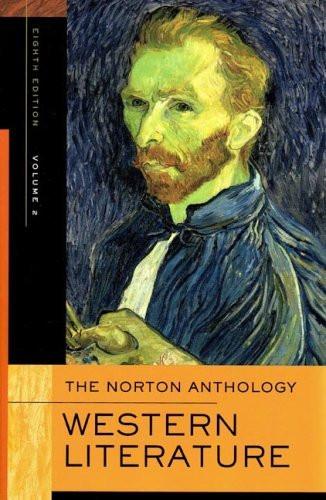 Norton Anthology Of Western Literature Volume 2