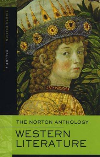 Norton Anthology Of Western Literature Volume 1