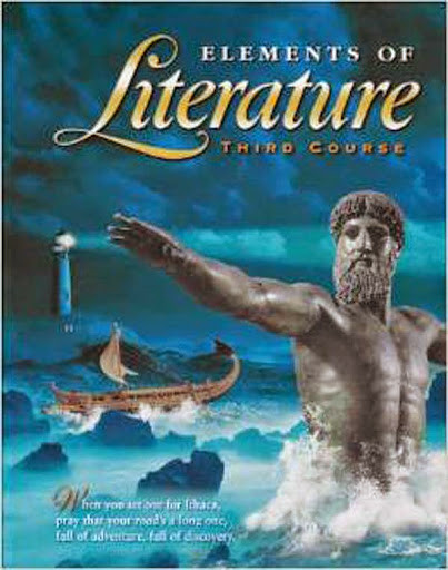 Elements Of Literature Student Edition Third Course Grade 9 By Rinehart And Holt