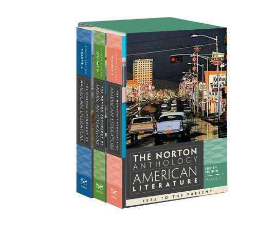 Norton Anthology Of American Literature Volumes C D And E