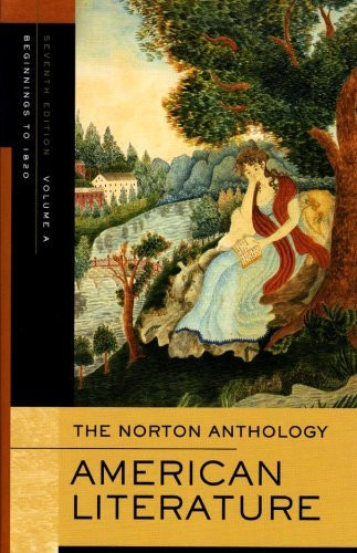 Norton Anthology Of American Literature Volume A