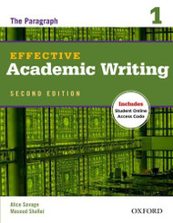 Effective Academic Writing Student Book 1