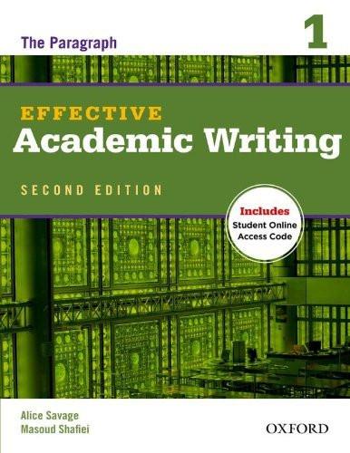 Effective Academic Writing Student Book 1