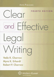 Clear and Effective Legal Writing