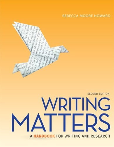 Writing Matters Tabbed
